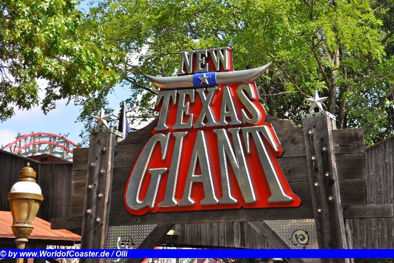 New Texas Giant @ Six Flags over Texas
